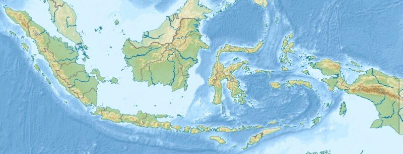 Indonesien Topografie