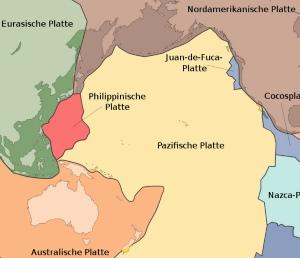 Plattentektonik Pazifik